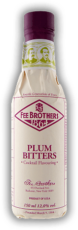 Fee Brothers Plum Bitters 0,15 Liter