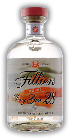 Filliers Dry Gin 28 Tangerine Seasonal Edition