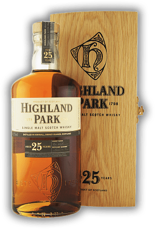 Highland Park 25 Years in Holzkiste 45,7%