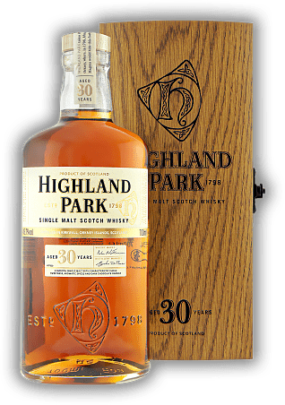 Highland Park 30 Years in Holzkiste 45,7%