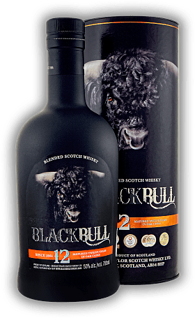 Black Bull Duncan Taylor 12 Years Blended Scotch Whisky