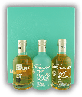 Bruichladdich Wee Laddie Tasting Collection 3x0,2 Liter Set