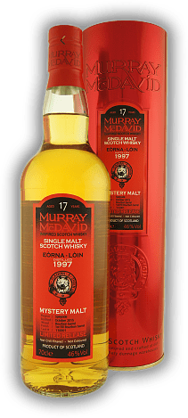 Eòrna-Lòin Mystery Malt Murray McDavid 1st Fill Bourbon Barrel 17 Years 1997/2015
