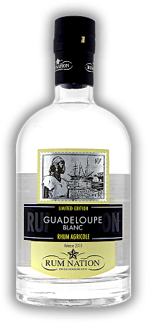 Rum Nation Guadeloupe Blanc 50%