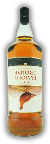 Famous Grouse 4,5 Liter Label upside down / umgekehrt