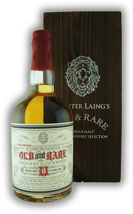 Highland Park Hunter Laing & Co. Old & Rare 18 Years 51,8%