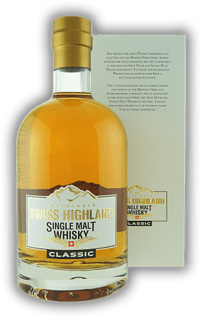 Rugen Distillery Swiss Highland Single Malt Whisky Classic