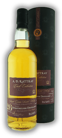 Strathclyde A.D. Rattray Bourbon Barrel 26 Years 1990/2016