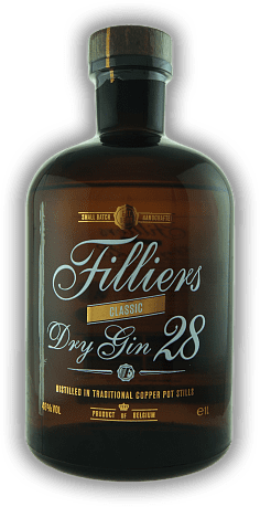 Filliers Dry Gin 28 Classic 1,0 Liter