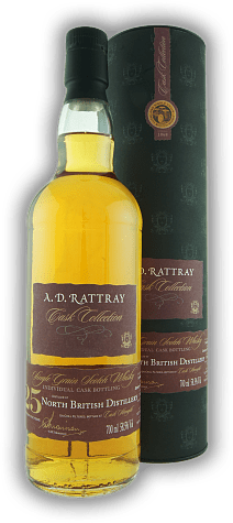 North British A.D. Rattray 25 Years Sherry Butt