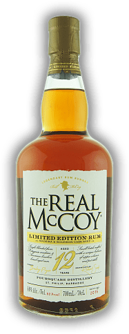 The Real McCoy 12 Years Limited Edition Madeira Cask 46%