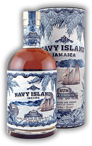 Navy Island Navy Strength 57%