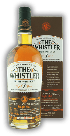 The Whistler Boann Distillery Natural Cask Strength 7 Years 59%