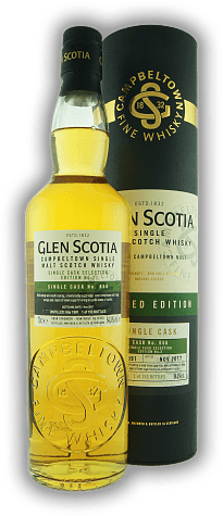 Glen Scotia Vintage 1991 Single Cask #656 Edition No. 2