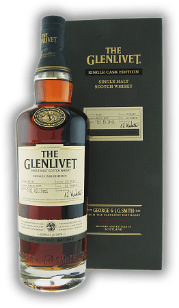 Glenlivet 14 Years Single Cask Edition Sherry Butt #4518  60,1%
