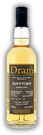Dufftown C&S Dram Collection 8 Years 2009/2018 Bourbon Barrel No. 700216 58,6%
