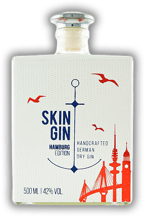 Skin Gin - Edition Hamburg White