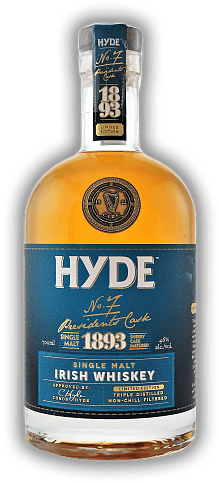 Hyde No.7 Irish Single Malt Whiskey Sherry Cask Matured 46%