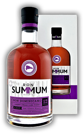 Summum 12 Years Ron Dominicano Sherry Cream Cask Finished