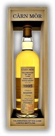 Bowmore Càrn Mòr Celebration of the Cask 'German Selection by Schlumberger' 23 Years 1995/2018 Hogshead #824