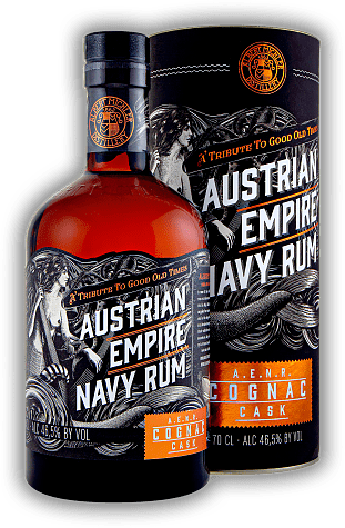 Albert Michler's Austrian Empire Navy Rum Reserve Double Cask Edition Cognac