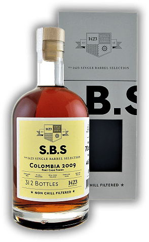 SBS Rum Colombia 2009 Port Cask Finish 54%