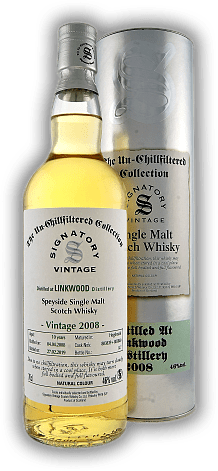 Linkwood Signatory Un-Chillfiltered Collection 10 Years 2008/2019 46%