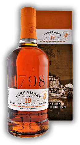 Tobermory 1999 Marsala Finish Limited Release 2019