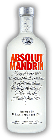 Absolut Mandrin Vodka 1,0 Liter