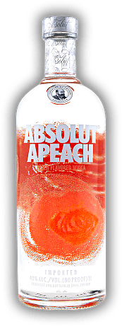 Absolut Apeach Vodka 1,0 Liter