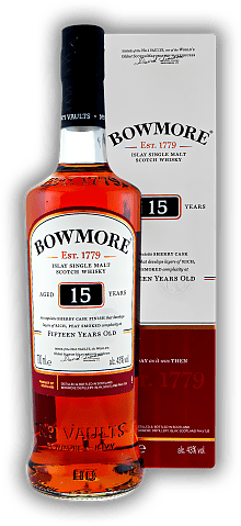 Bowmore 15 Years Sherry Cask Finished